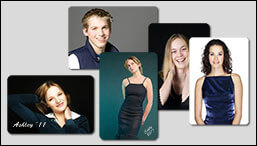 Rounded corner wallet size photo prints