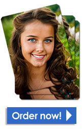 Rounded corner wallet senior pictures
