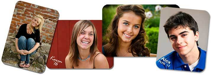 Senior picture wallet size photos
