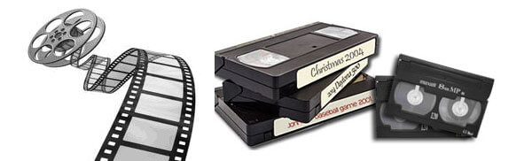 Convert video tapes to DVD.