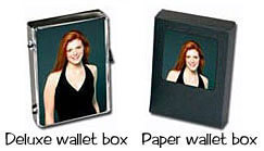 Wallet photo box