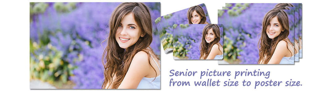 Senior picture wallet photos.